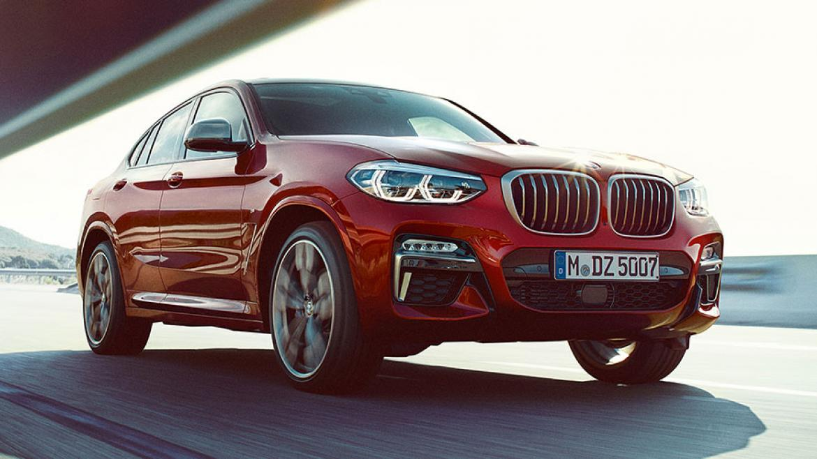 THE ALL-NEW BMW X4 美しさを、鍛え抜け。